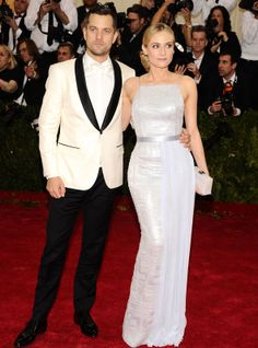 Joshua Jackson y Diane Kruger #galamet