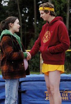 People: Michael Cera, Ellen Page  Titles: Juno (2007) Juno & Paulie