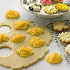 Garden Cookie Cutters | Williams-Sonoma  #pastry #decorating #cookie_cutters