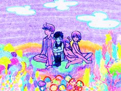 Omori Images :: Title Screen :: rpgmaker.net  dreamy illust~ i love the colors and motion!