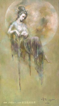 Deidades sentadas #kuanyin http://patricialee.me/feng-shui-resourcesyi-jing-book-of-changes-4-pillars-of-destiny/kuan-yin-goddess-of-compassion/