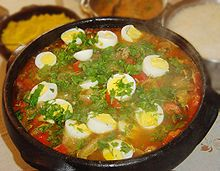 The Moqueca, the staple dish from the Bahia region
