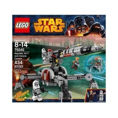 """Looking for great deals on """"Star Wars LEGO Set 75045 Republic Anti-vehicle Cannon""""? Save big when buying your favorite LEGO sets. Lego Star Wars, Star Wars Set, Star Wars Toys, Star Wars Clone Wars, Star Wars Clones, Building For Kids, Building Toys, Lego Ninjago, Legos"""