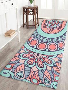 Spring Bamboo Water Zen Asian Yoga Mat Rugs Floor Bathmat Round Rug Non-slip NEW