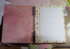 How to make an address book - GREAT Mother's Day gift idea