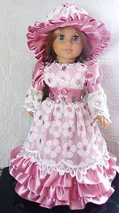 Custom handmade era gown set
