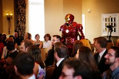 Action Heroes, Ninja Assassins Make Gamer's Dream Wedding Come True  Kinda cool, wife is such a good sport lol