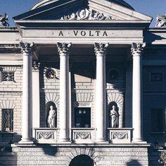 Il tempio voltiano (1928). #tempiovoltiano #volta #como #lagodicomo #lombardia #italia