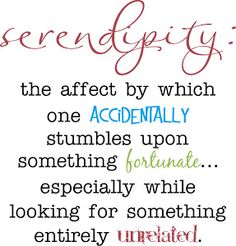 Serendipity Quotes | serendipity meaning : bigphotos