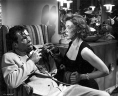 Stock Photo - Lee Marvin and Gloria Grahame / The Big Heat / 1953 directed by Fritz Lang [Columbia Pictures]