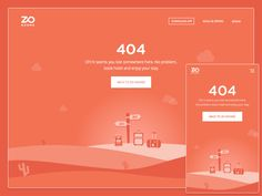 ZO Rooms 404 Page by Rahul Bhadauria Web Design, Page Design, Design Ideas, Empty State, 404 Pages, Error Page, User Interface, Rooms, App
