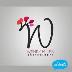 Premade Logo Design - Photography Branding, Professional Business Premade Logo Make Up Artist, Photographer Logo Spa. Monogram Logo, Initial via Etsy