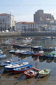 Puerto. Castro Urdiales, Cantabria