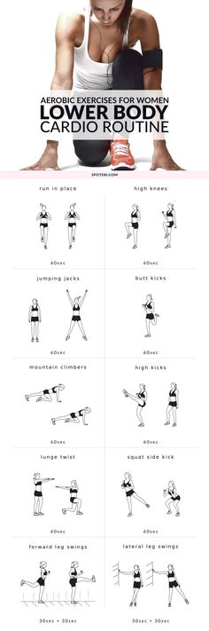 Get ready for your lower body workout with this set of warm up exercises. An at home routine with instructions, calories burned, music playlist and timer.  | Posted By: NewHowToLoseBellyFat.com