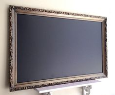 Extra Large CHALKBOARD Bulletin Board Office Organizer Kitchen Chalkboard Gold Black Wedding Seating Chart Antique Chalkboard -ReADY to SHiP...