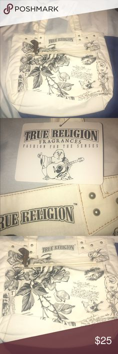 True Religion Tote✨💕 NWT hung up in my closet no stains no damage. True Religion Bags Totes