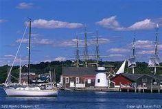 Mystic Seaport, Connecticut.