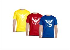 Pokemon Go Team Valor Team Mystic Team Instinct Pokeball nerd Color Tee shirt **LIMITED SUPPLIES ** for Men Women Youth Toddler Infan to 6XL by CoolCreativeClothing on Etsy