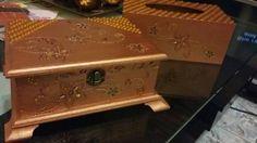 Tissue & jewellery box