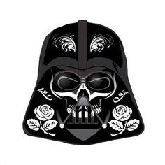 Star Wars Darth Vader Sugar Skull Cross Stitch Pattern