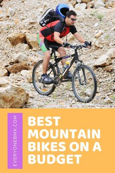 The best mountain bike will be one that suits the kind of riding you want to do, at the right price Best Mountain Bikes, Mountain Trails, Bmx Bikes, Budgeting, Bicycle, Suits, Bicycle Kick, Outfits, Budget Organization