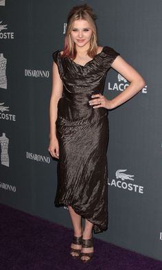 Chloe Moretz in Vivienne Westwood at the Costume Designers Guild Awards