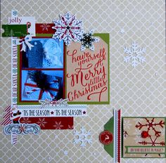 Layout: Merry Little Christmas
