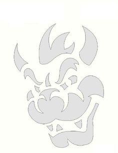 If you're a crafter or designer and you need a stencil; Small & large size reusable, laser-cut stencils - Made in America! Pumpkin Carving Stencils Free, Halloween Pumpkin Stencils, Pumkin Carving, Pumpkin Carving Patterns, Halloween Pumpkins, Jack Skellington Pumpkin Stencil, Kitt Knight Rider, Pumpkin Template, Bleach Art