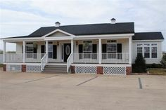 Greg Tilley's Bossier Mobile Homes in Bossier City, Louisiana is one of the oldest and best known manufactured home dealers in the great state. Mobile Home Porch, Mobile Home Exteriors, Mobile Home Renovations, Remodeling Mobile Homes, Home Upgrades, Home Remodeling, Bathroom Remodeling, Shed Homes, Prefab Homes