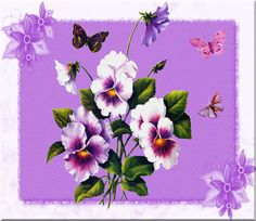 Resultado de imagen de ANIMATED FLOWERS BEAUTIFUL AND GLITTER Flowers Gif, Purple Love, Gifs, Glitter, Wallpaper, Spring, Desserts, Beautiful, Butterfly Wings