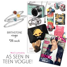 The perfect gift? Something personalized. @teenvogue agrees that our Birthstone Rings are the go-to gift this season!