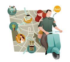 Rome map - Andrew Lyons
