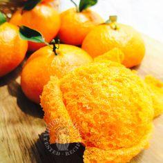 chewy mandarin orange mantou (steam bun) ~ highly recommended QQ 橘子馒头 ~ 强推
