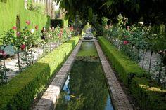 The lower gardens Generalife