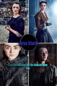 Arya Stark #Arya Stark #Game Of Thrones