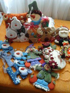 Christmas Clay, Christmas Sewing, Christmas Fabric, Christmas Humor, Book Crafts, Felt Crafts, Christmas Crafts, Christmas Decorations, Christmas Ornaments