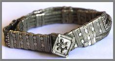 Antique Yemeni Jewish Wedding Silver Ring. 1930