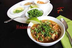 I have yet to meet any non-vegetarian who doesn't like haleem. For those of you who has never had haleem or are not aware of what it is here is a little description. Traditional haleem is a soup th...