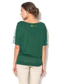 Tmavozelené tričko Marcia