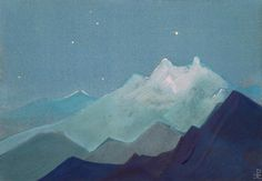 ruralbeach:himalayas - moon mountains, nicholas roerich