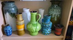 My collection Candlesticks, German, Pottery, Jar, Ceramics, Retro, Collection, Home Decor, Candle Holders