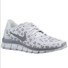 Brand New Women's Nike Free 5.0 NS PT Shoes New Women's Nike Free 5.0 NS PT Running Shoes   Size: 9.5 (US) Women's Color: White / Wolf Grey / Pure Platinum Style: 695168-100 Brand New in Box, box top not included Nike Shoes Sneakers