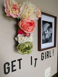 This custom DIY Floral Letter project cost about $20 to make and adds a touch of pretty to any space.