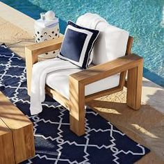 Outdoor Lounge Chairs & Outdoor Furniture Sets | Williams-Sonoma