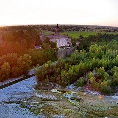 Il Castello di Rivalta e il fiume Trebbia - Instagram by goldenmay