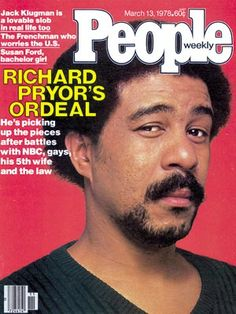 photo | 1970, Richard Pryor Cover, Richard Pryor