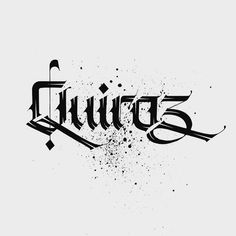 """630 Likes, 11 Comments - Lalit Mourya Calligrapher (@lalit.mourya207) on Instagram: """"Greetings for my friend """"quiroz"""" @geeq80 ✍ Follow me @lalit.mourya207 #lalitmourya207…"""""""
