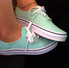 Vans.. I'm obsessed with this color