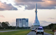 NASA is preparing for the launch of Ascent on July which will test the Orion spacecraft's launch abort system. Space Launch System, Orion Spacecraft, Concrete Stepping Stones, Kennedy Space Center, Cape Canaveral, Operations Management, Pacific Ocean, New Mexico, Cn Tower