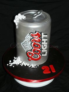 Coors Light Can by Karen's kakes, via Flickr
